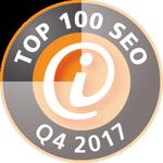 TOP 100 SEO Agentur Q4 2017 - Die wichtigsten deutschsprachigen SEO-Dienstleister.