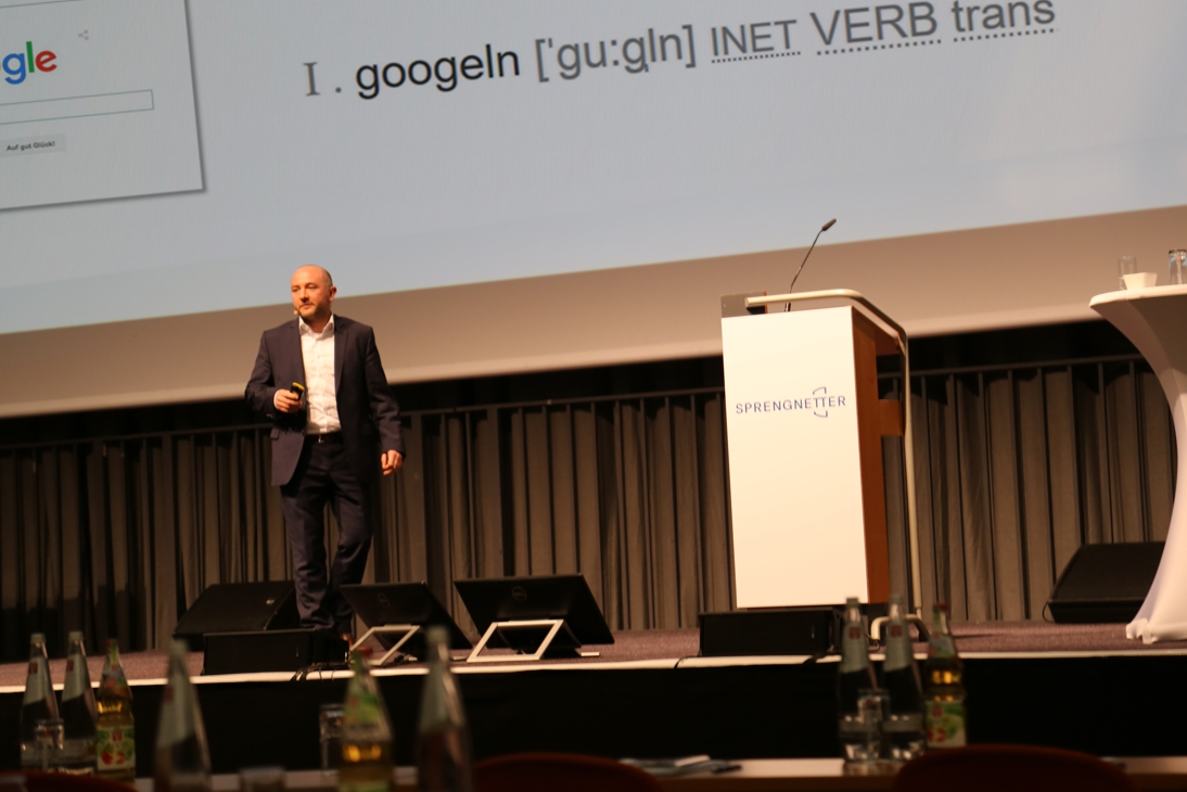 Kim Weinand - Sprengnetter Jahreskongress der Immobilienbewertung 2018 - googeln,copyright Sprengnetter Akademie GmbH